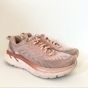 Hoka x Outdoor Voices Clifton Sneakers Pink 6.5
